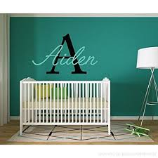 Boys Name Decal Name Wall Decal Childrens Wall Decals Boys Bedroom Decor Personalized Name B01gqt8794