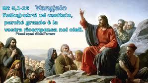 Vangelo Mt 5,1-12 Rallegratevi ed... - PICCOLI SPAZI DI LUCI L'AMORE. |  Facebook