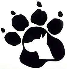 Great Dane Dog Pet Paw Print Car Truck Window Vinyl Decal Sticker 12 Colors Pet Paw Print Great Dane Dogs Great Dane