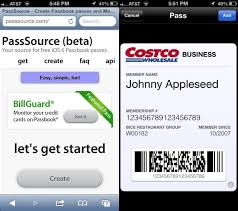 cards and tickets to passbook ios