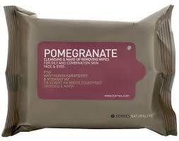 korres pomegranate cleansing make up