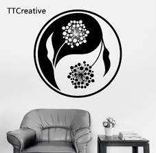 Pinturas Murais Big Mandala Vinyl Wall Decal Yoga Sticker Menhdi Lotus Large Pattern Ornament Om Indian Mural Home Decor Indian Home Decor Olivia Decor Decor For Your Home And Office