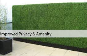 Artificial Boxwood Hedges Bamboo Panels Designer Plants
