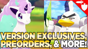 Should You Buy Pokemon Sword OR Shield? Version Exclusives, Wild ...