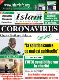 """Résultat de recherche d'images pour """"coronavirus islam"""""""