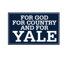 God Country Yale Decal Yale Bulldog Blue