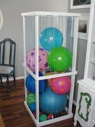 10 Ball Storage Ideas Ball Storage Storage Garage Storage