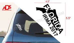 I Survived Hurricane Irma Vinyl Decal Sticker Car Window Bumper Florida Strong For Sale Online Ebay