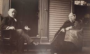 File:Charles F. Adams and Abigail Brooks Adams on piazza at Old House in  Quincy.jpg - Wikimedia Commons