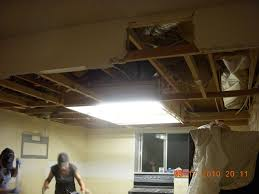 remove kitchen drop ceiling day 2