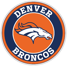 Denver Broncos C Vinyl Die Cut Decal Sticker 4 Sizes