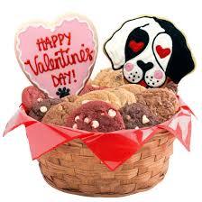 dog themed gift basket valentine s day