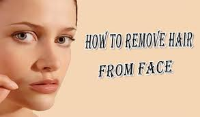 hair from face permanently naturally
