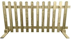 Ruby Portable Freestanding Treated Wooden 6ft Picket Fence Panel 3ft High 2 Amazon Co Uk Diy Tools