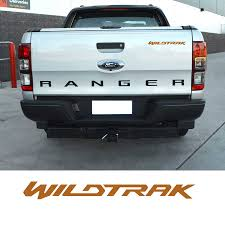 Car Accessories 1 Piece Wildtrak Letter Graphic Vinyl Sticker For Door Or Rear Tailgate Sticker Decal Fit For Ford Ranger Car Stickers Aliexpress