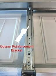 clopay garage door opener reinforcement