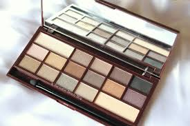 chocolate palette review swatches