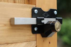 stainless steel exterior gate lock
