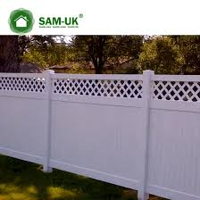 China 6 X 8 Vinyl Private Fence Double Gate Uneven Ground China White Vinyl Privacy Fence White Vinyl Privacy Fencing