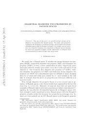PDF) Diametral diameter two properties in Banach spaces
