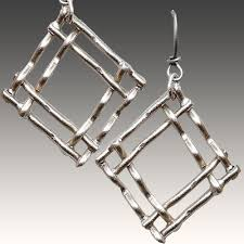 cavender ers woven diamond drops je2854