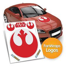 Star Wars Rebel Alliance Symbol Fanwraps Car Decal