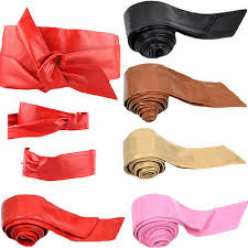 bowknot band wrap around sash obi belt