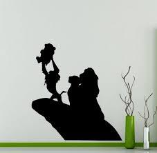 Lion King Wall Decal Simba Pumbaa Timon Scar Vinyl Sticker Home Nursery Kids Boy Girl Room Interior Art Decoration Any Room Mural Waterproof High Quality Vinyl Sticker 217xx Baby B0164jkkuk