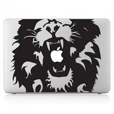 Lion Head Laptop Macbook Vinyl Decal Sticker