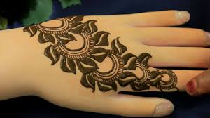 mehndi design photo man