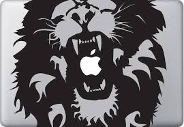 Rasta Lion Reggae Vinyl Decal Sticker Skin Apple Macbook Pro Air Mac Laptop Macbook Decal Stickers Macbook Decal Vinyl Car Stickers