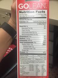kashi golean original cereal calories