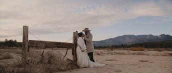 mounn wedding in idyllwild ca