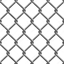 Seamless Detailed Chain Link Fence Pattern Texture Stock Vector C Raymondgibbs 118579342