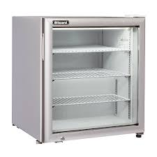 glass door display freezer