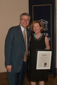 Dr. Priscilla Perry Arnold Receives Coker College Distinguished Alumni  Achievement Award