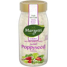 light poppyseed salad dressing