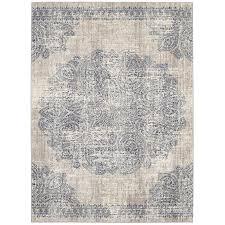 8 x 11 large dharma medallion area rug