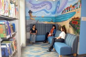 She always said she had twice as many books as she could read.' Mural in  memory young Madison woman | News | shorelinetimes.com