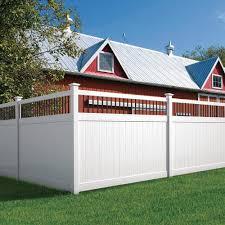 Veranda Pro Series 6 Ft X 8 Ft Woodbridge Baluster Top Unassembled Vinyl Fence Panel 244551 The Home D White Vinyl Fence Vinyl Fence Panels Backyard Fences
