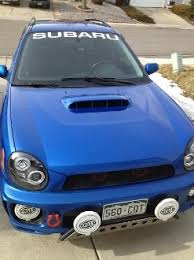 Subaru Windshield Decal Banner Vinyl Sticker Wrx Sti