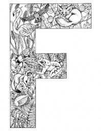 Alphabet Animal Coloring Pages F Kleurplaten Alfabet