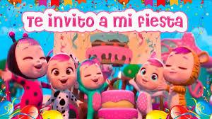 Invitacion Video Digital Bebes Llorones De Cumpleanos 390 00