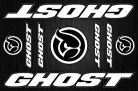 Amazon Com Topbikedecals Ghost Decals Stickers Bicycle Frame Replacement Graphic Set Sports Outdoors