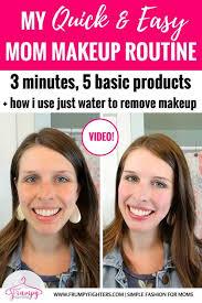 easy mom makeup steps for everyday