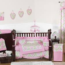 juliet 9 piece baby girl crib bedding