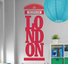 Awesome London Wall Decals Tenstickers