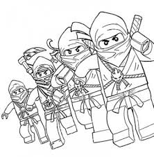 Get This Free Lego Ninjago Coloring Pages to Print 457034 !