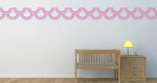 Circles Border Wall Decals Dezign With A Z