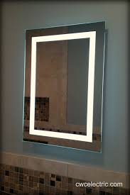 led lighted mirror installation cwc